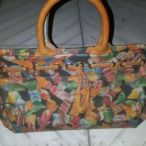 Dooney & Bourke   Candy  Design Hand Bag